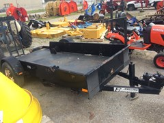 Specialty Trailer For Sale:  2004 Felling FT6