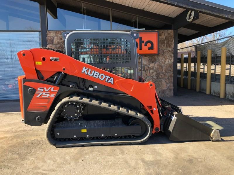 2020 Kubota SVL75, Skid Steer-Track
