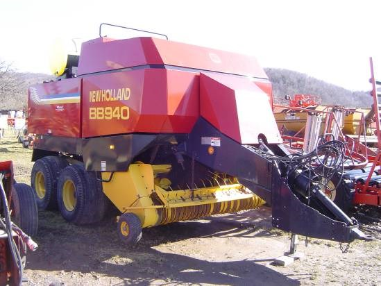 2001 New Holland BB940R Baler-Big Square For Sale
