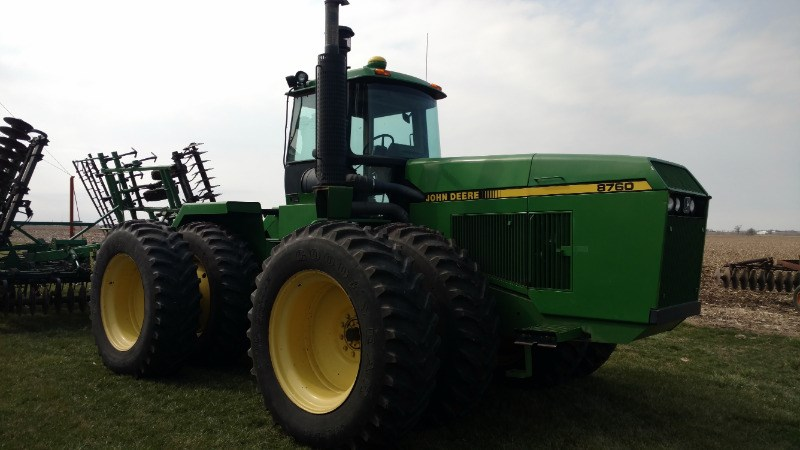1991 John Deere 8760 Tractor For Sale