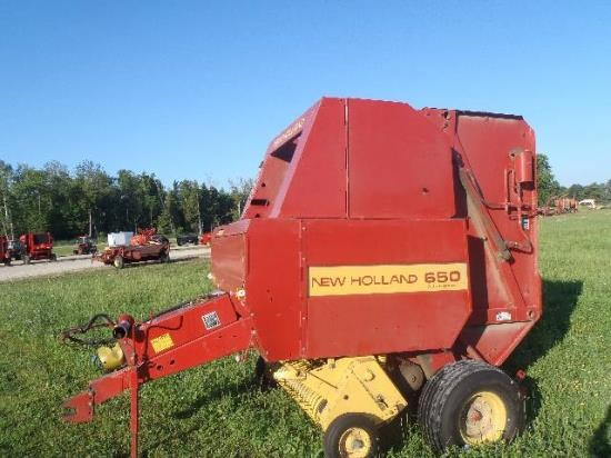 1992 New Holland 650 Baler-Round For Sale