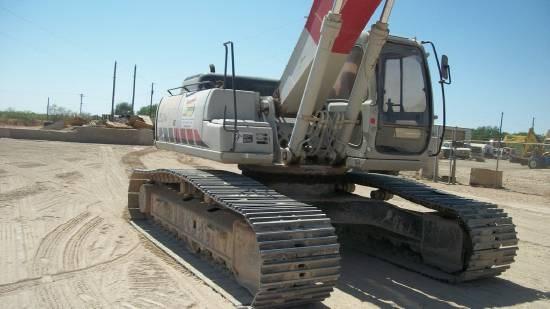 2002 Link Belt 290LX Excavator-Track