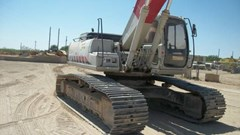 Excavator-Track  2002 Link Belt 290LX , 200 HP