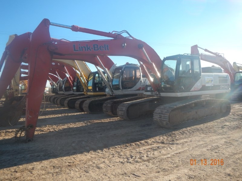 2008 Link Belt 290X2 Excavator-Track