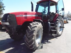 Tractor For Sale 2001 Case IH MX180 MAGNUM , 145 HP
