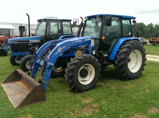 2009 New Holland T5070 Tractor For Sale