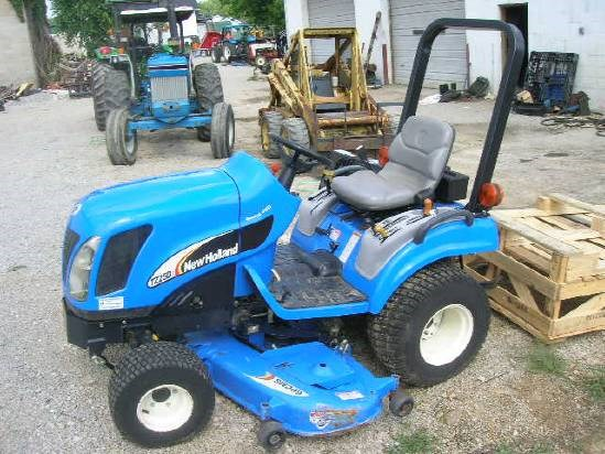 2005 New Holland TZ25DA W/60