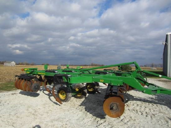 2012 John Deere 512 Disk Ripper For Sale