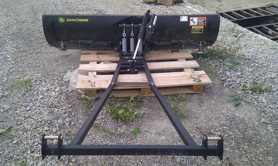2011 John Deere CX BLADE Snow Blower For Sale