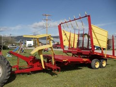 Bale Wagon-Pull Type For Sale 1985 New Holland 1037