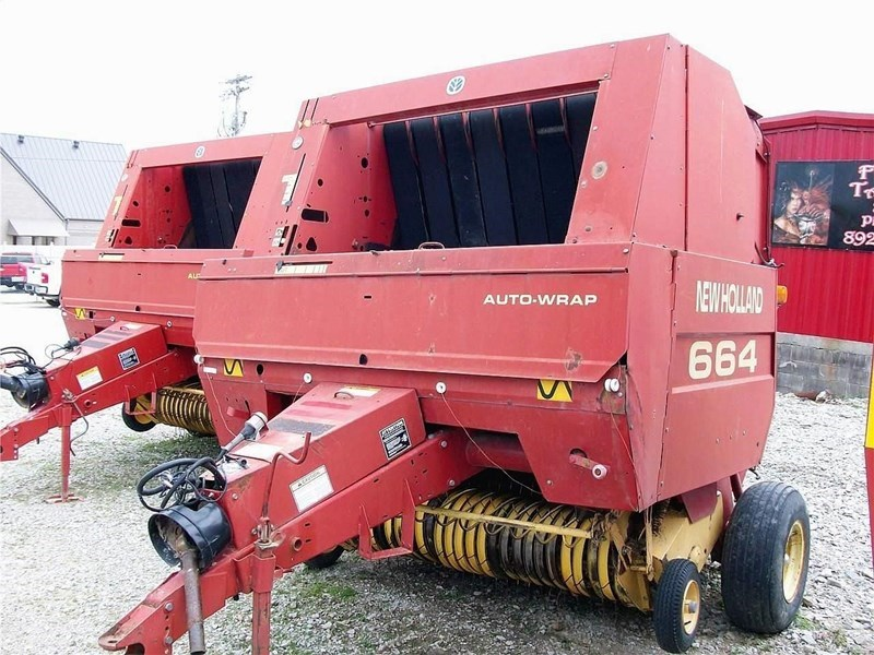 1999 New Holland 664 Baler-Round For Sale