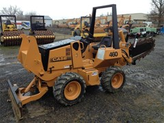 Trencher-Rubber Tires For Sale 2004 Astec RT460 , 37 HP
