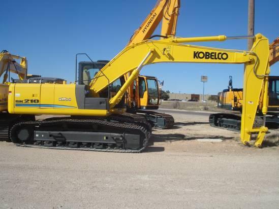 2012 Kobelco SK210 Excavator-Track For Sale