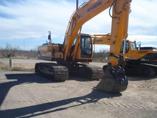 2012 Hyundai R210LC-9 Excavator-Track
