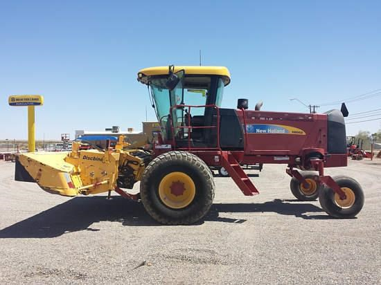 2009 New Holland H8060 Windrower-Self Propelled For Sale