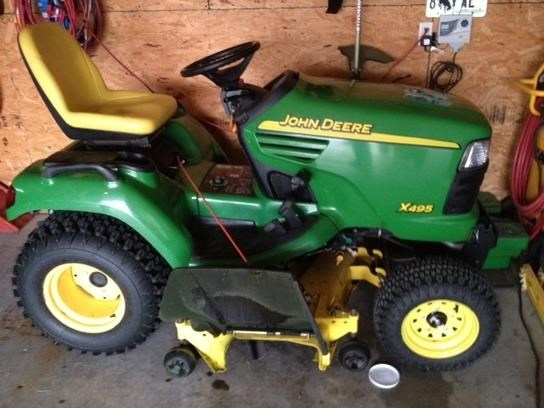 2005 John Deere X495 Riding Mower For Sale