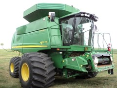 Combine For Sale:  2011 John Deere 9870