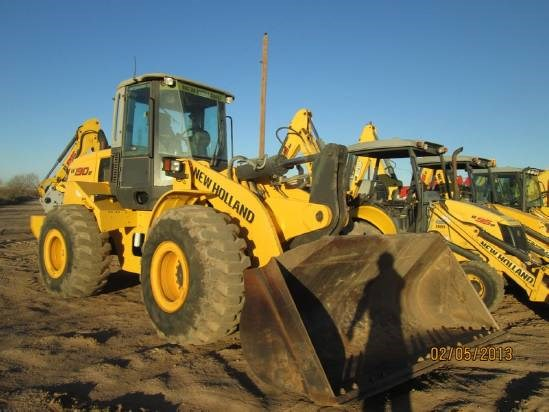 2010 New Holland W190B Wheel Loader