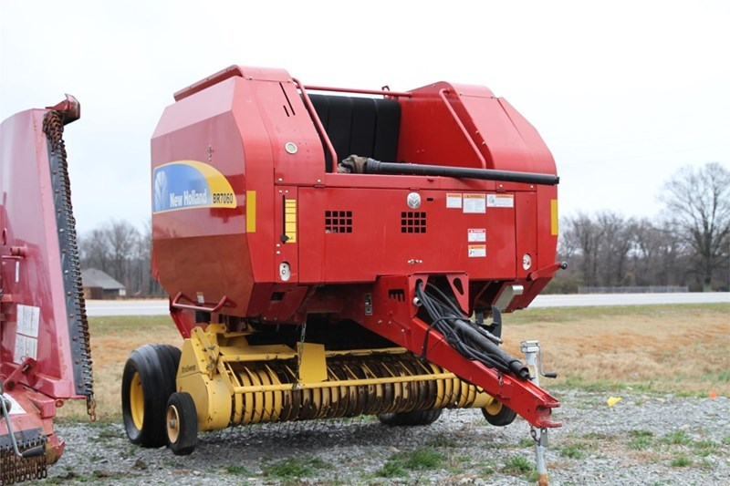 New Holland BR7060 Baler-Round For Sale