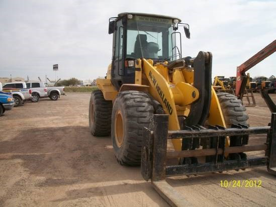 2010 New Holland W170B Wheel Loader