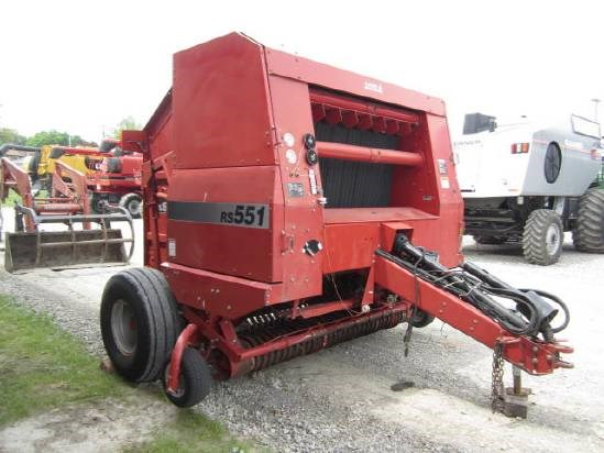 2000 Case IH RS551 Baler-Round For Sale