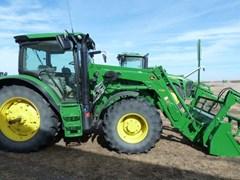 Tractor For Sale:  2013 John Deere 6125R , 125 HP