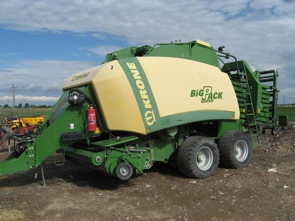 2009 Krone BP12130XC Baler-Square For Sale