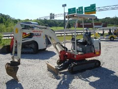 Excavator-Mini For Sale:  2011 Takeuchi TB016 , 13 HP