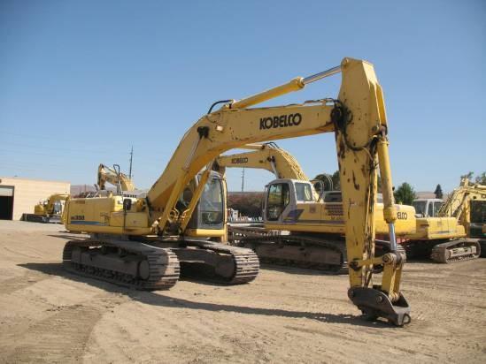 2008 Kobelco SK350LC-8 Excavator-Track