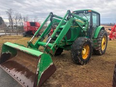 Tractor - Row Crop For Sale 2003 John Deere 7420 , 135 HP