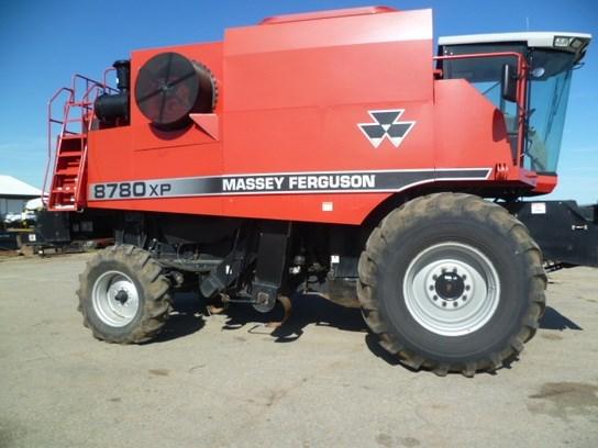 2002 Massey Ferguson 8780 Combine For Sale