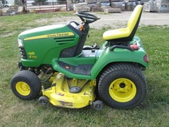 Riding Mower For Sale 2010 John Deere X740 , 24 HP