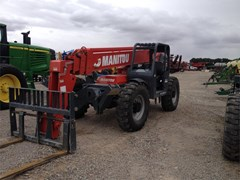 Telehandler For Sale 2012 Manitou MT10055XT , 102 HP