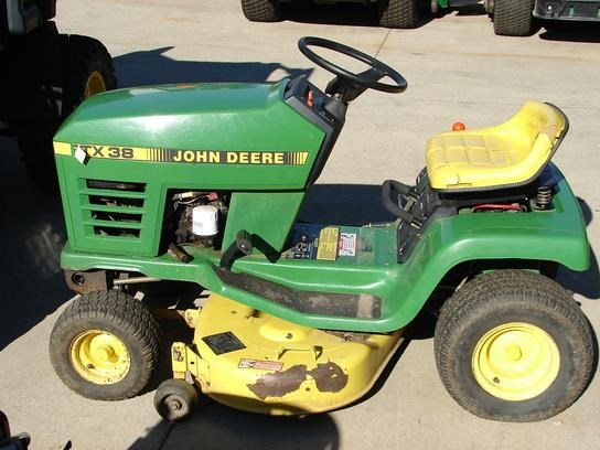 1990 John Deere STX38 Riding Mower For Sale