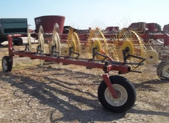 H & S 12 WHEEL Hay Rake-Wheel For Sale