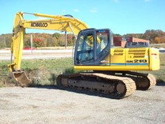 Excavator-Track For Sale:  2012 Kobelco SK210LC , 152 HP