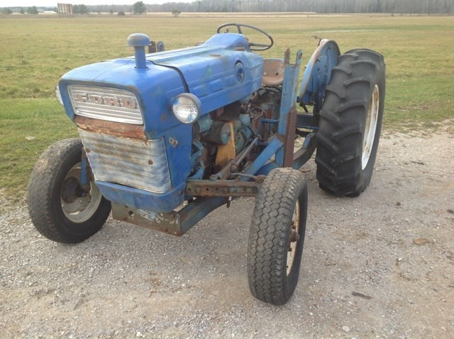 1967 Ford 2000 Tractor For Sale