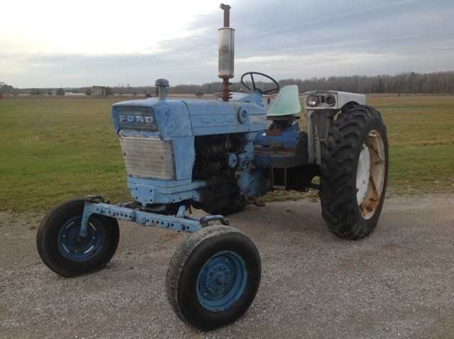 1966 Ford 4000 Tractor For Sale