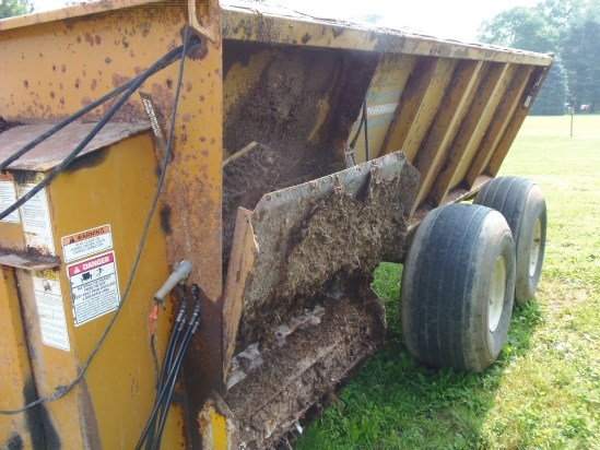 2005 Knight 8124 Manure Spreader-Dry/Pull Type For Sale
