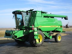 Combine For Sale 2000 John Deere 9550W