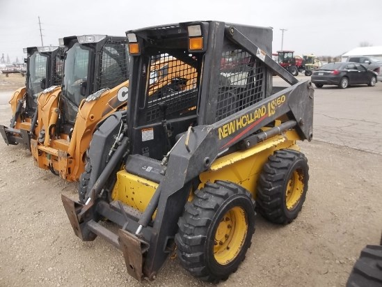 2003 New Holland LS160 Skid Steer For Sale