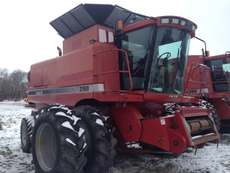 1996 Case IH 2188, 3855 Sep Hr, FT, RT, Spec Rotor, Bin Ext Cosechadoras a la venta