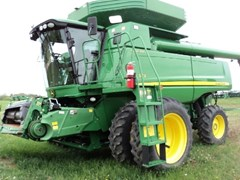 Combine For Sale:  2009 John Deere 9770