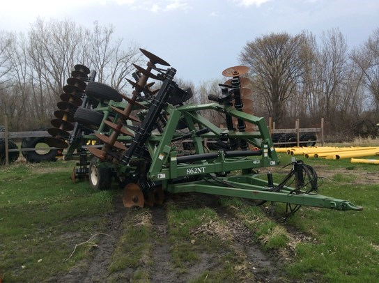 2009 Wishek 862NT Disk Harrow For Sale