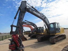 Excavator-Track For Sale:  2007 John Deere 200DLC