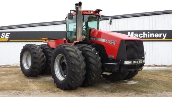 2006 Case IH STX480CE, 4571 Hr, No PTO, Wheel Weights, Dlx Cab Tractores a la venta