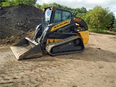 Skid Steer-Track  2013 New Holland C238 , 90 HP