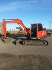 Excavator-Track For Sale:  2008 Kubota KX080