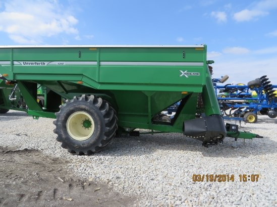 Unverferth 1315 W/ TARP Grain Cart For Sale