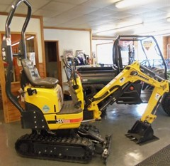 Excavator-Mini For Sale:  2013 Yanmar SV08-1A , 10 HP
